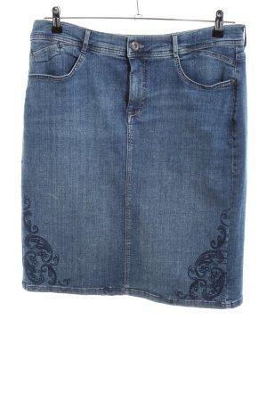 Bonita Jeansrock blau Casual-Look