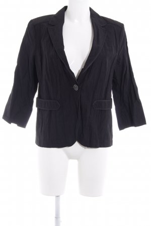 Bonita Jerseyblazer schwarz Business-Look