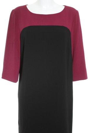 Bonita Jerseykleid schwarz-magenta Casual-Look