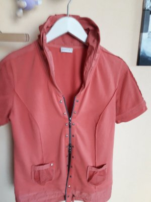 Bonita: Kurzarm Jacke....Lachs Farbe 40