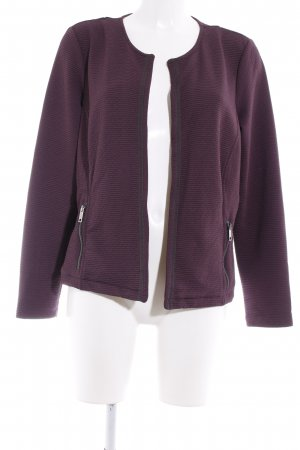 Bonita Kurzjacke braunviolett Business-Look