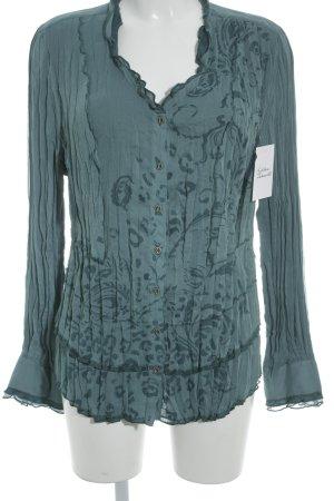 Bonita Langarm-Bluse kadettblau Casual-Look