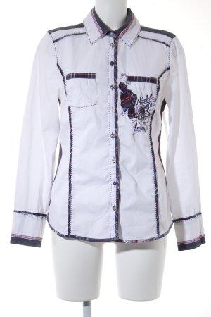 Bonita Langarm-Bluse mehrfarbig Casual-Look
