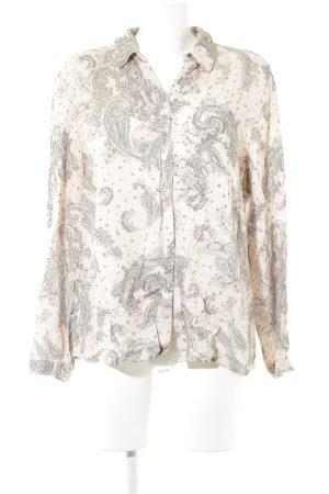 Bonita Langarm-Bluse Ornamentenmuster Casual-Look