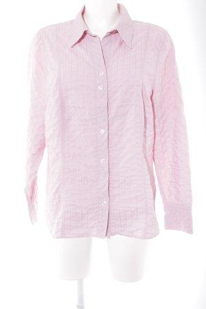 Bonita Langarm-Bluse rosa Casual-Look