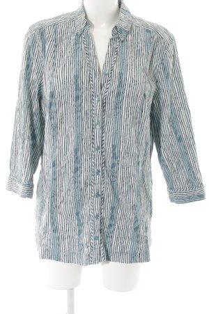 Bonita Langarm-Bluse Streifenmuster Casual-Look