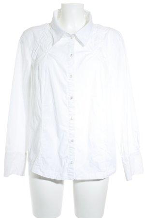 Bonita Langarm-Bluse weiß Casual-Look