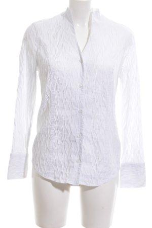 Bonita Langarm-Bluse weiß Elegant