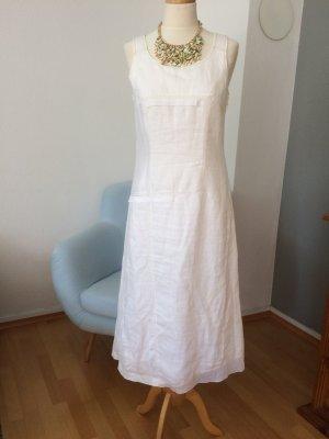 Bonita Leinen Kleid weiß Größe 36