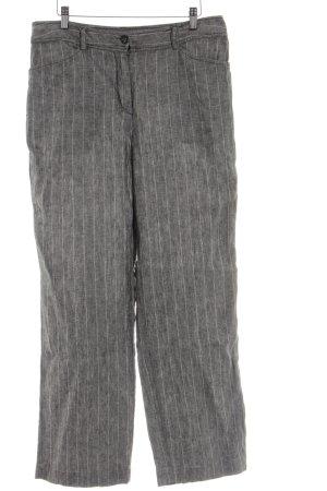 Bonita Linen Pants striped pattern business style