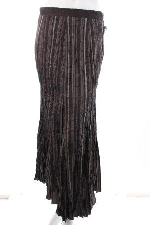 Bonita Maxirock Streifenmuster Street-Fashion-Look