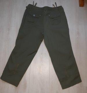 Bonita Pantalón tobillero caqui-gris verdoso