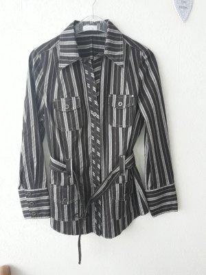 Bonita: NEU  Blusenjacke mit abnehmbarem Gürtel tailliert Größe M