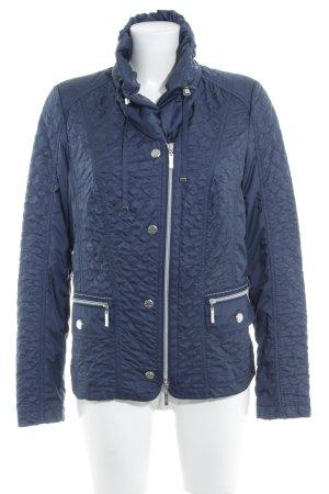 Bonita Outdoor Jacket dark blue spot pattern casual look