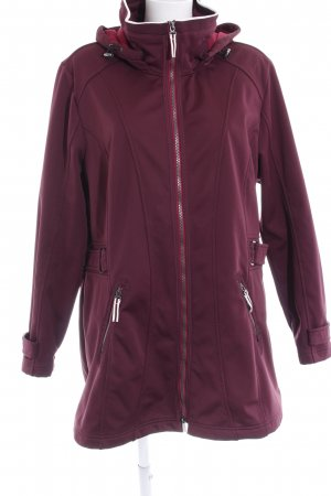 Bonita Outdoorjacke purpur Casual-Look