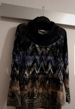 Bonita Pullover blau Beige braun Gr. L  40  wie neu