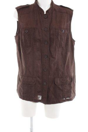 Bonita Safari Jacket brown casual look