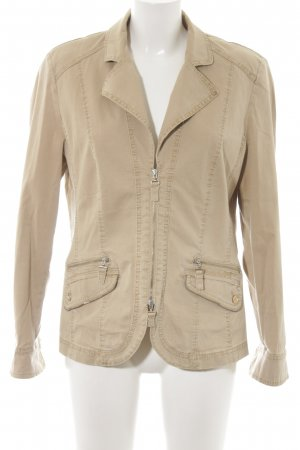 Bonita Safari Jacket cream casual look
