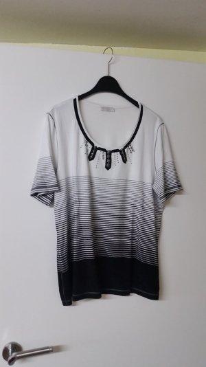bonita shirt gr. L schwarz weiss