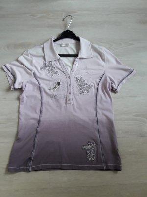 Bonita : Shirt mit 3 versch Lila  Tönen Größe 38