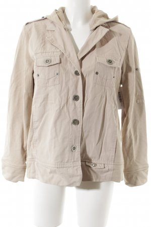 Bonita Shirt Jacket camel casual look