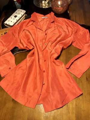 Bonita Veste chemisier orange fluo