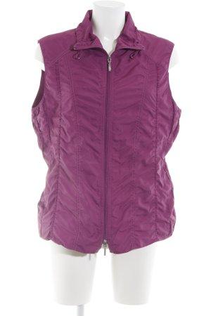 Bonita Gilet matelassé violet style mode des rues