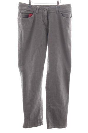 Bonita Straight-Leg Jeans hellgrau Casual-Look