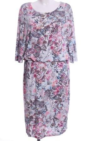 Bonita Stretch Dress pink-blue allover print elegant