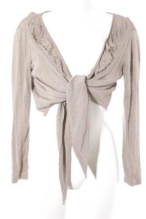 Bonita Bolero lavorato a maglia beige stile casual