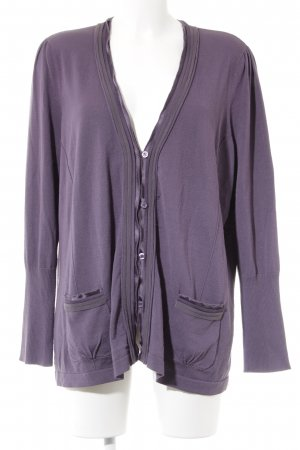 Bonita Strickjacke blauviolett Casual-Look