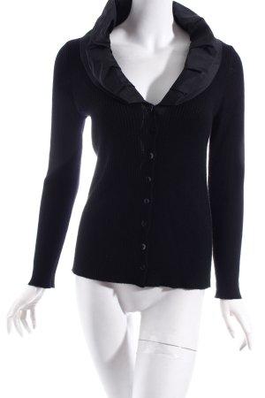 Bonita Strickjacke schwarz extravaganter Stil