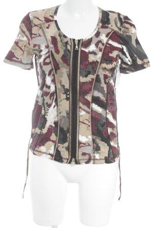 Bonita T-Shirt Camouflagemuster Casual-Look