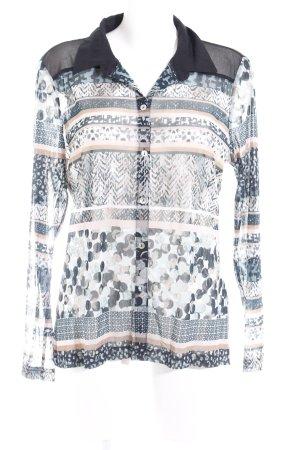 Bonita Transparenz-Bluse Mustermix Casual-Look