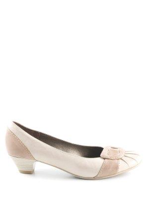 Bonita Zapatos Informales beige-marrón claro estilo clásico