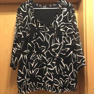 Bonita Camicia a tunica bianco-nero