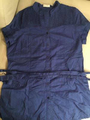BONITA Tunika Tunikabluse dunkelblau, Gr. 42, mit Gürtel, wie NEU