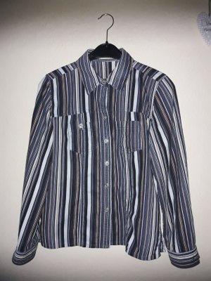 Bonita :  Weiche Warme Langarm Bluse gestreift Größe 38 neuwertig