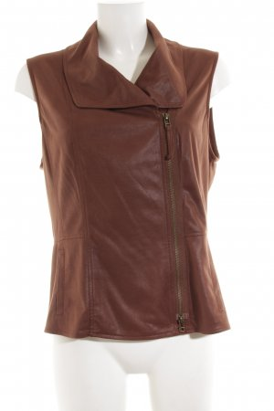 Bonita Reversible Vest bronze-colored casual look