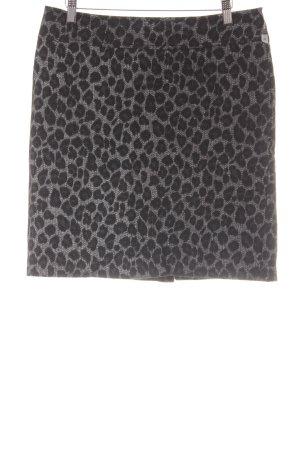 Bonita Wool Skirt animal pattern elegant