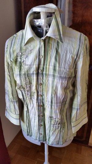 Bonität Blusen Hemd mit Pailletten 38 Größe neu mit Etikett