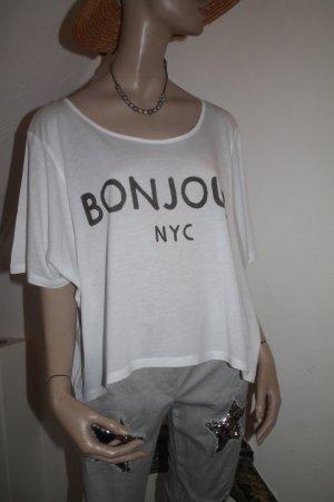 BONJOUR NYC * super Shirt * Größe L * einmal getragen * neuwertiger Zustand *