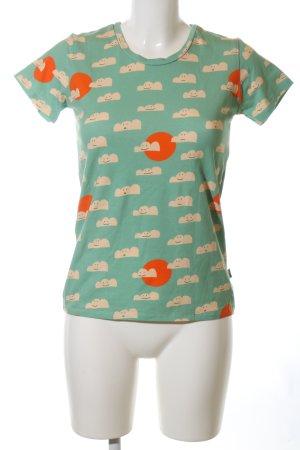 Bonnie & Buttermilk Print-Shirt Allover-Druck Casual-Look