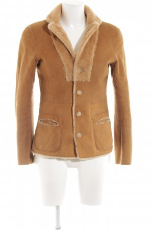 Bonnie Chaqueta reversible naranja claro look casual