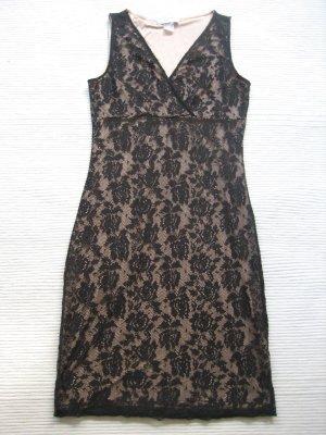 bonprix collection kleid spitzenkleid schwarz neuwertig gr. s  36