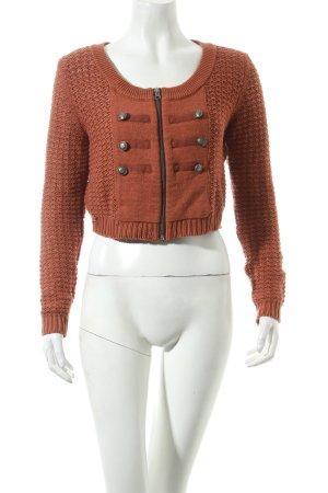 bonprix collection Strickjacke braun Street-Fashion-Look