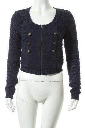 bonprix collection Strickjacke dunkelblau Street-Fashion-Look