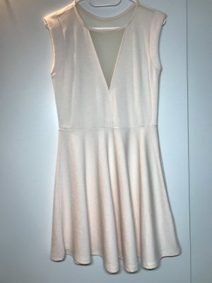 b.p.c. Bonprix Collection Vestido a media pierna nude Poliéster