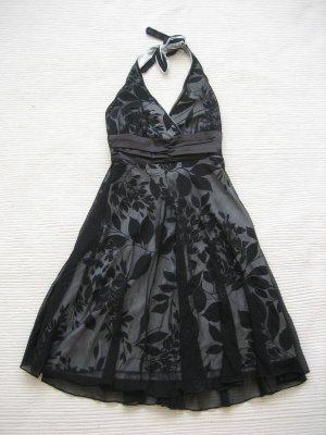 b.p.c. Bonprix Collection Robe de cocktail noir-blanc