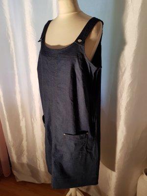 b.p.c. Bonprix Collection Vestido vaquero azul Algodón